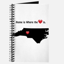 NORTH CAROLINA Home is Where the Heart Is Journal