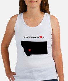 MONTANA Home is Where the Heart Is Tank Top