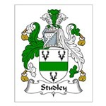 Studley Family Crest Small Poster
