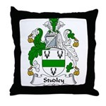 Studley Family Crest Throw Pillow