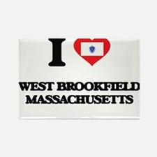 I love West Brookfield Massachusetts Magnets