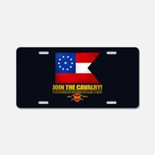 Join The Cavalry Aluminum License Plate