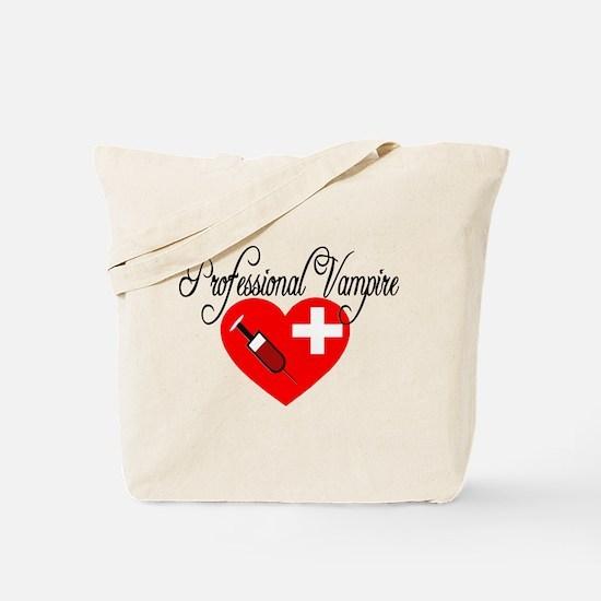 Phlebotomist - Professional Vampire Tote Bag