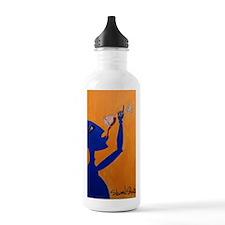 Blue Wino Water Bottle