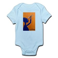 Blue Wino Body Suit