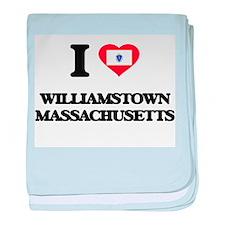 I love Williamstown Massachusetts baby blanket