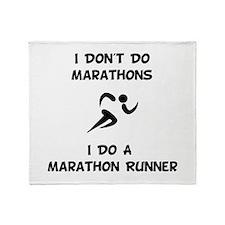 Do A Marathon Runner Throw Blanket