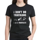 Triathlon Women's Dark T-Shirt