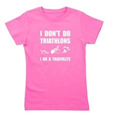 Do A Triathlete Girl's Tee