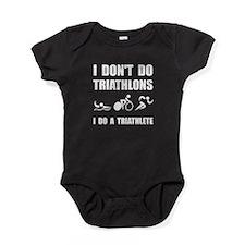 Do A Triathlete Baby Bodysuit