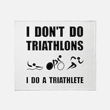Do A Triathlete Throw Blanket