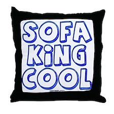 SofaKingCool 10x10.png Throw Pillow