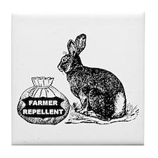 Farmer Repellent --  Tile Coaster