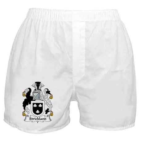 Strickland Family Crest Boxer Shorts