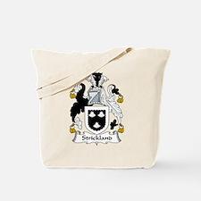 Strickland Family Crest Tote Bag