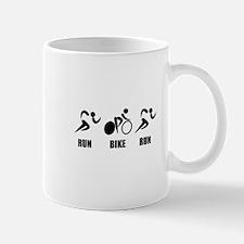 Duathlon Run Bike Run Mugs