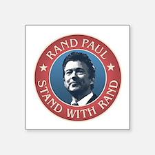 "Rand Paul president 2016 Square Sticker 3"" x 3"""