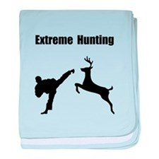Extreme Hunting baby blanket