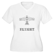 Flight Plus Size T-Shirt