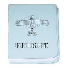 Flight baby blanket