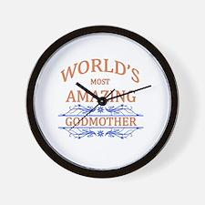 Godmother Wall Clock