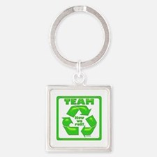 TeamRecycle MilitaryCap Keychains