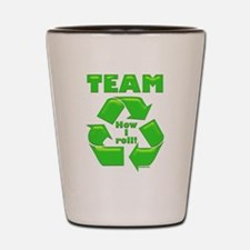TeamRecycle Bib.png Shot Glass