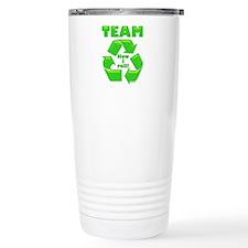 TeamRecycle Bib.png Thermos Mug