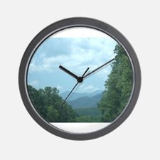 Mountain morning, nettie, karrcass Wall Clock