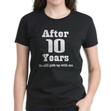 Unique Tenth wedding anniversary Tee