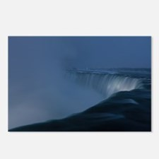 Cool Niagara falls in winter Postcards (Package of 8)