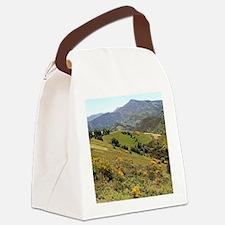 Mountains near O'Cebreiro, El Cam Canvas Lunch Bag