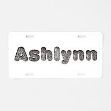 Ashlynn Wolf Aluminum License Plate