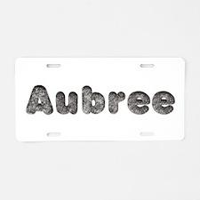 Aubree Wolf Aluminum License Plate