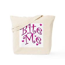 BiteMePink 10x10.png Tote Bag