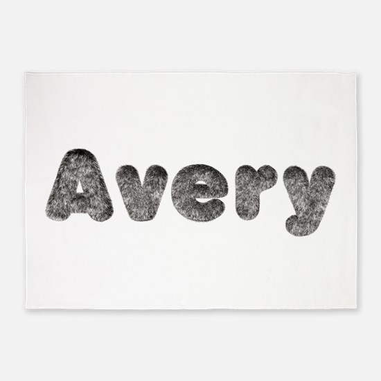 Avery Wolf 5'x7' Area Rug