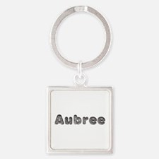 Aubree Wolf Square Keychain