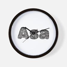 Asa Wolf Wall Clock