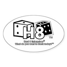 Hard 8 Enterprises sticker