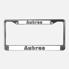 Aubree Wolf License Plate Frame