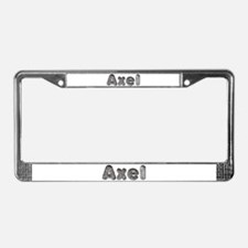 Axel Wolf License Plate Frame