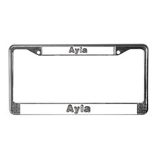 Ayla Wolf License Plate Frame
