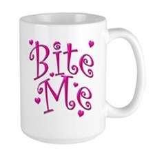 BiteMePink 10x10 Mugs
