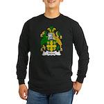 Stowe Family Crest Long Sleeve Dark T-Shirt