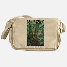 Serenity Nature Scene Messenger Bag