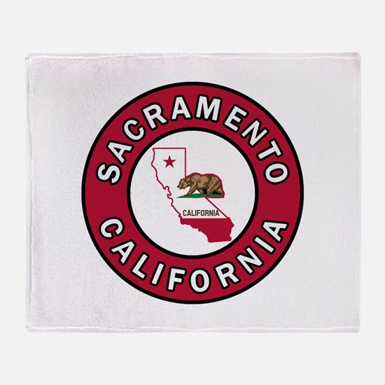 Sacramento Throw Blanket