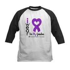 I Wear Purple For My Grandma Baseball Jersey