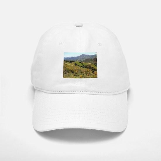 Mountains near O'Cebreiro, El Camino, Spain Baseball Baseball Cap