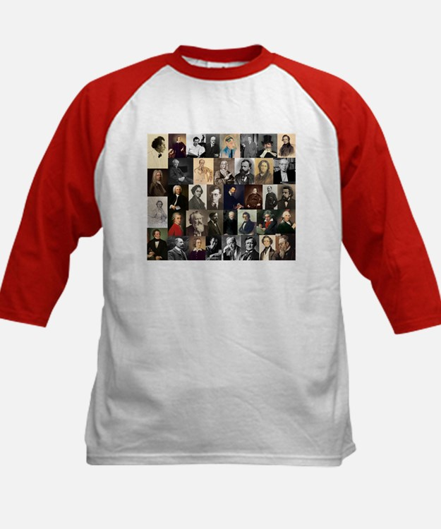 Composers Collage Baseball Jersey