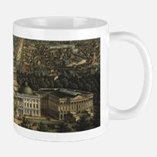 Vintage Pictorial Map of Washington D.C. (187 Mugs